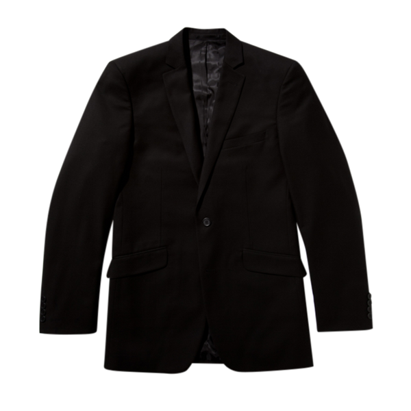 Essential Black Slim Fit Suit Jacket