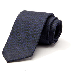Navy Crosshatch Tie