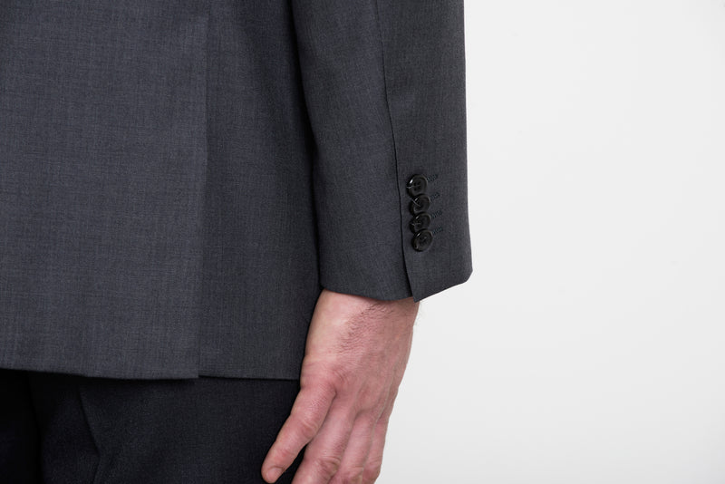 Charcoal Three-Piece Suit