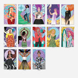 The Muses of Tarot Companion Box Set and Colour Guide Book