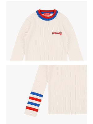 Wendy Color Block Sweater