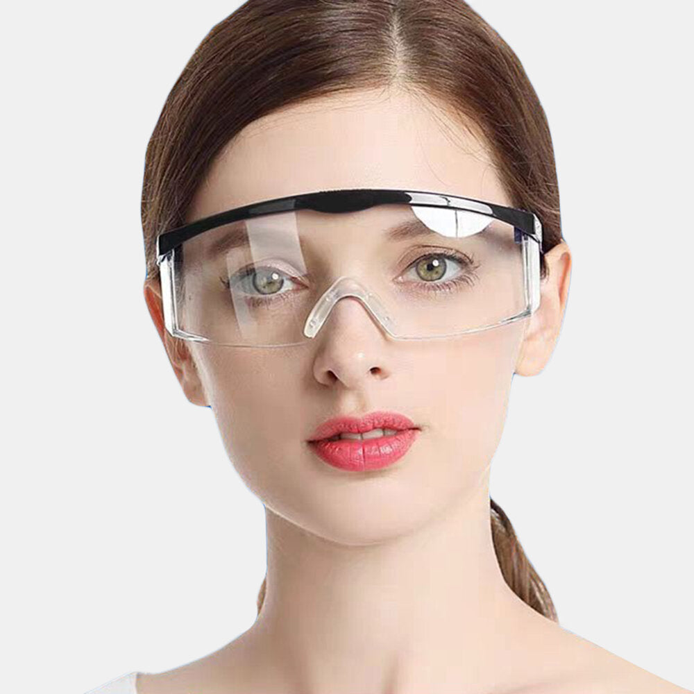 1 PC Transparent Goggles Anti-fog Protective Flu-resistant For Myopia Glasses