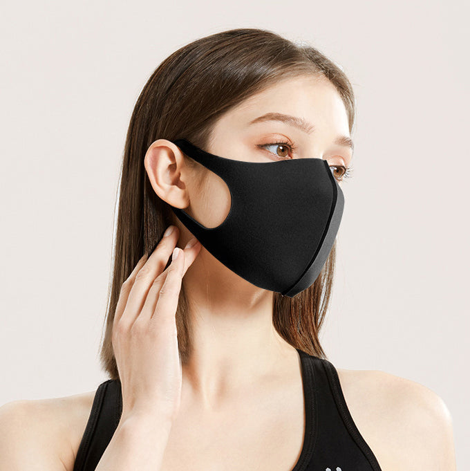 10Pcs Sponge Masks Outdoor Dustproof Anti-haze Breathable Protective Mask