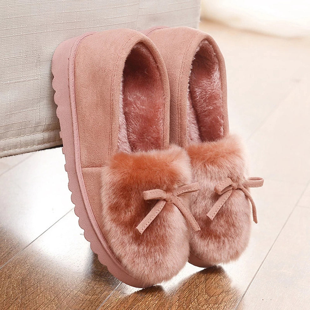 Flats Fluffy Home Warm Slippers