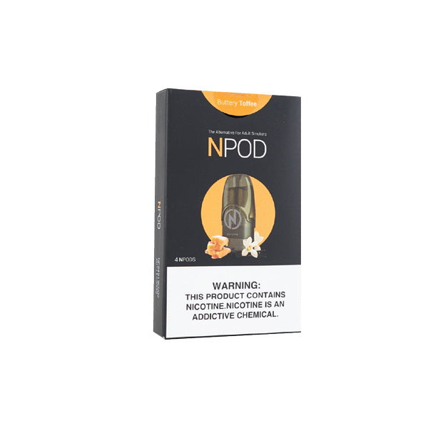 NCIG POD BUTTERY TOFFEE 4PCS