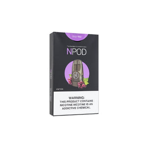 NCIG POD GRAPE NOIR 4PCS