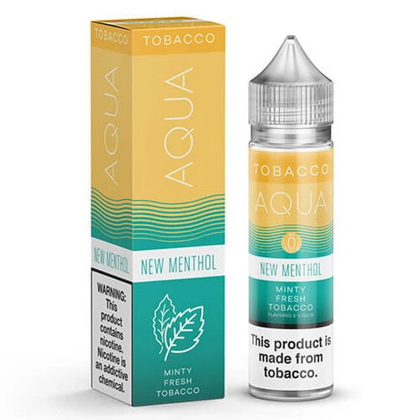 New Menthol 60ml by Aqua Tobacco eJuice - ANA Traders