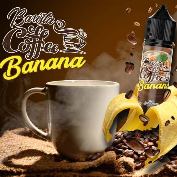 BARISTA COFFEE BANANA 60ML BY MAD ALCHEMIST
