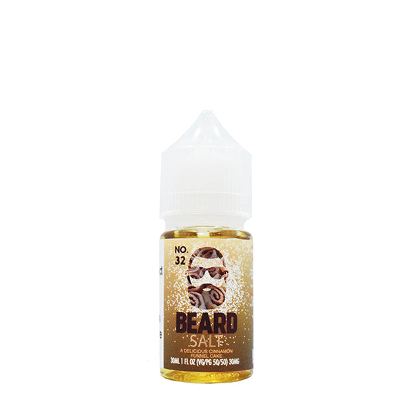 No. 32 A Delicious Cinnamon Funnel Cake 30ml by Beard Salts