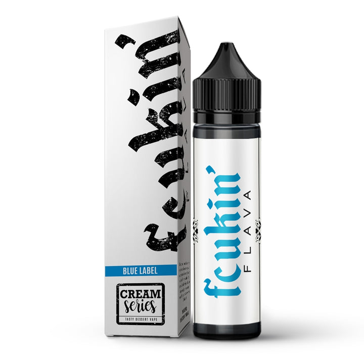 Blue Label 60ml by Fcukin' Flava Cream Series - ANA Traders