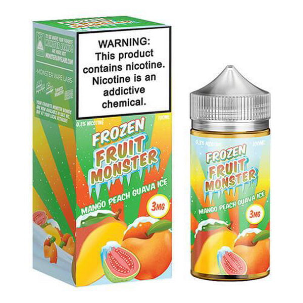 MANGO PEACH GUAVA ICE 100ML BY FROZEN FRUIT MONSTER EJUICE