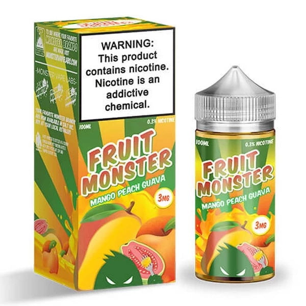 Mango Peach Guava 100ml by Fruit Monster - ANA Traders
