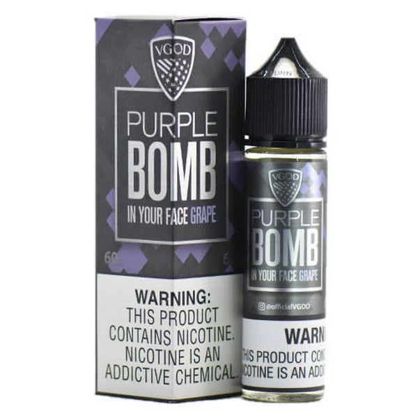 Purple Bomb 60ml by VGOD® Tricklyfe E-Liquid - ANA Traders