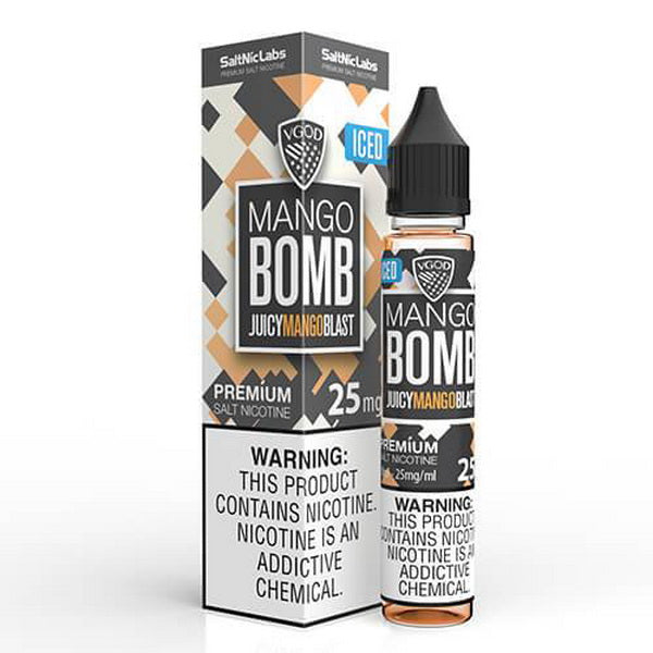 Iced Mango Bomb 30ml by VGOD SaltNic - ANA Traders