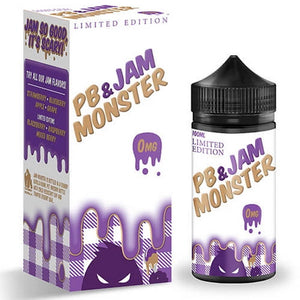 PB & Grape Jam 100ml by Jam Monster - ANA Traders