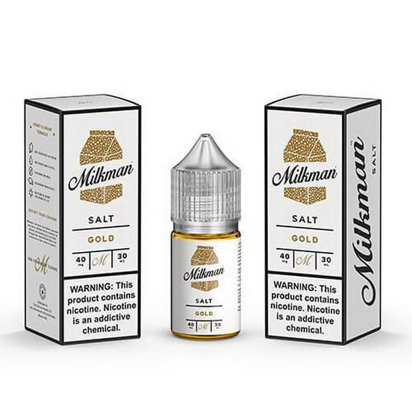The Gold Salt 30ml by The Milkman Salt - ANA Traders