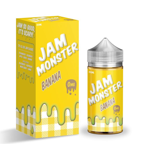 BANANA 100ML BY JAM MONSTER EJUICE