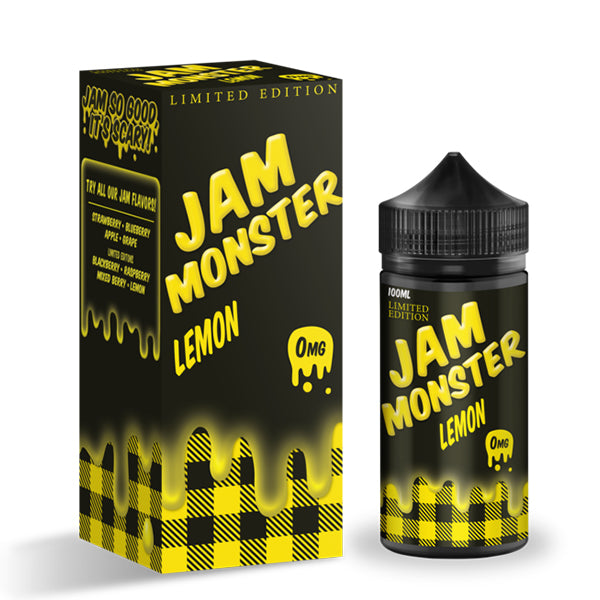 LEMON (LIMITED EDITION) 100ML BY JAM MONSTER