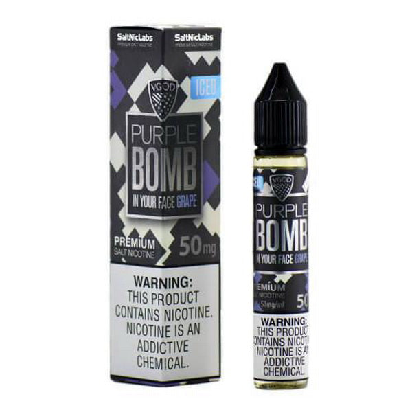 Iced Purple Bomb 30ml by VGOD SaltNic - ANA Traders