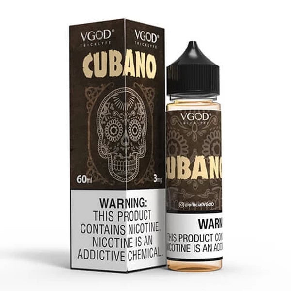 Cubano 60ml by VGOD® Tricklyfe E-Liquid - ANA Traders