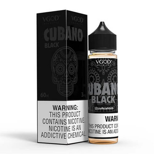 Cubano Black 60ml by VGOD® Tricklyfe E-Liquid - ANA Traders