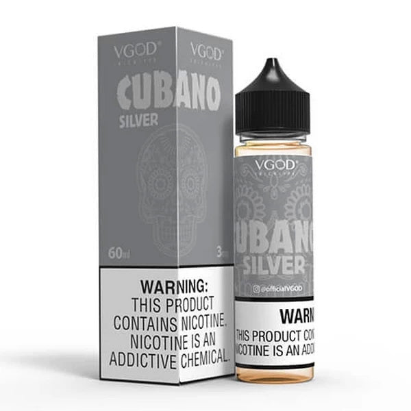 Cubano Silver 60ml by VGOD® Tricklyfe E-Liquid - ANA Traders