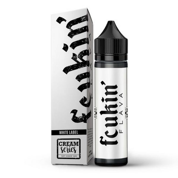 White Label 60ml by Fcukin Flava - ANA Traders