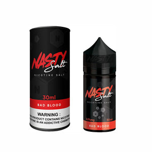 Bad Blood 30ml by Nasty Salt Reborn - ANA Traders
