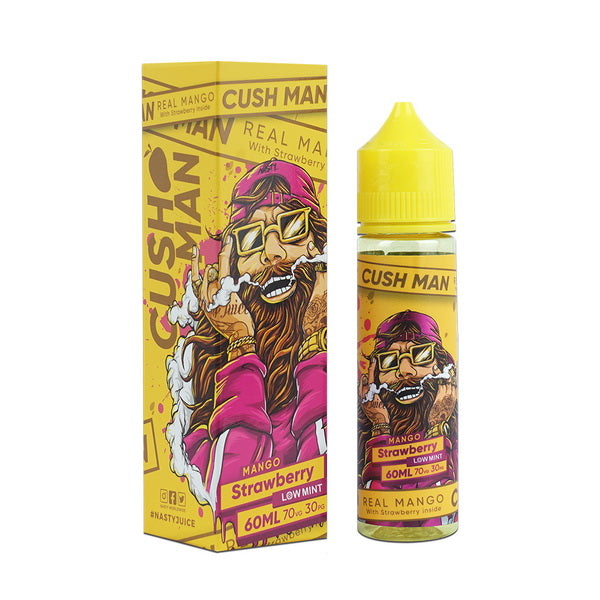 Mango Strawberry 60ml by Nasty Cush Man Series