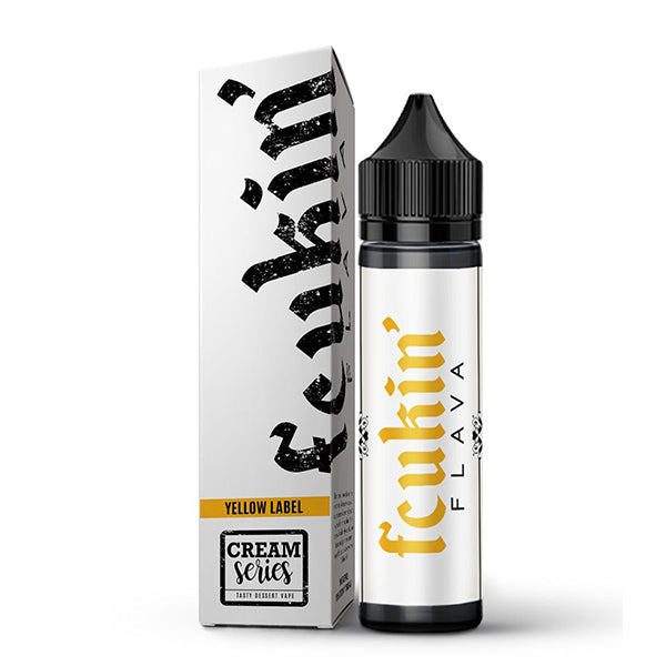 Yellow Label 60ml by Fcukin' Flava Cream Series