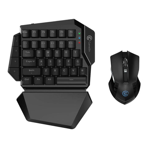 One-handed Gaming Keyboard and Mouse