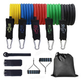 11 pcs Resistance Bands - Bodyweight Workout at Home