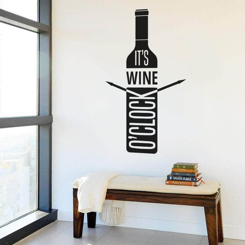 Wine O' Clock Painting and Sipping Wall Art