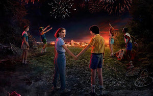 stranger things saison 3 affiche