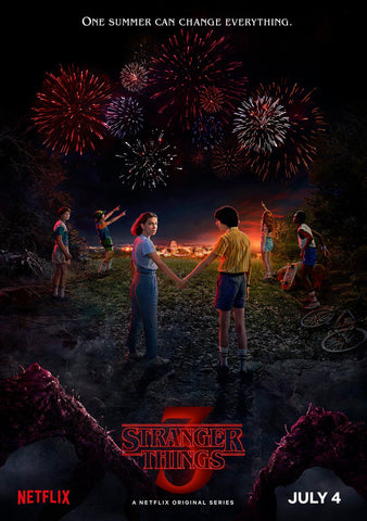Affiche stranger things saison 3