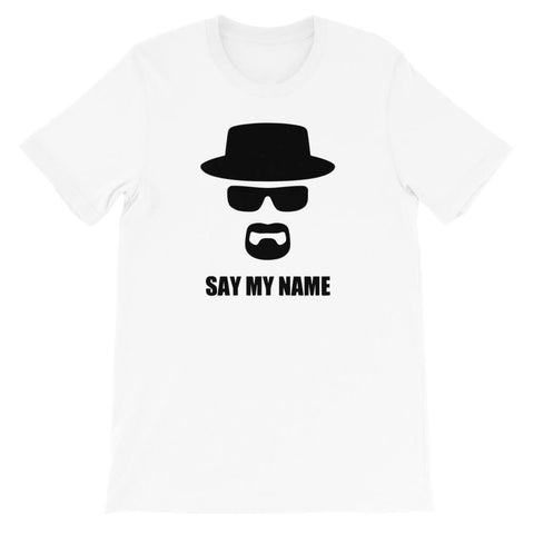 T-shirt Heisenberg Say my name