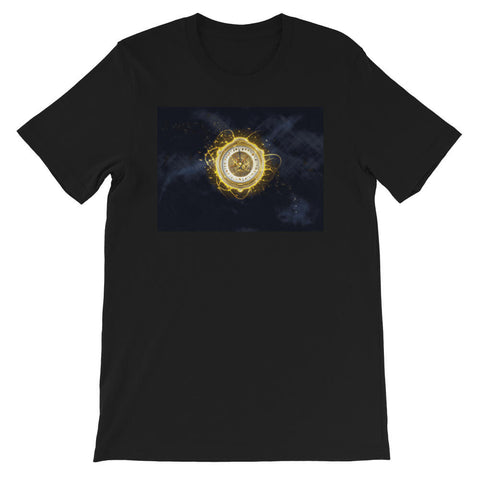 t shirt boussole d'or