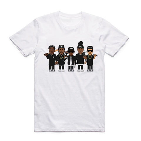 t shirt nwa cartoon parody