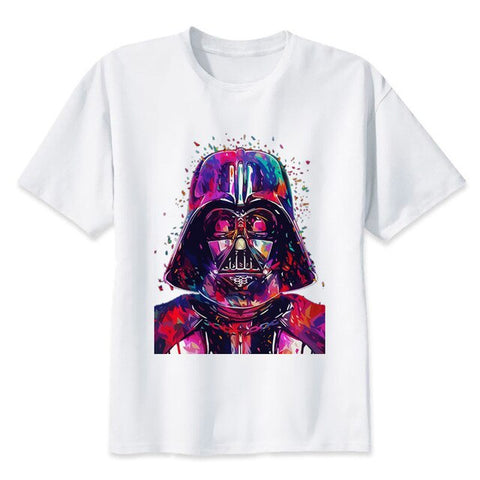 t shirt star wars darth vader portrait art
