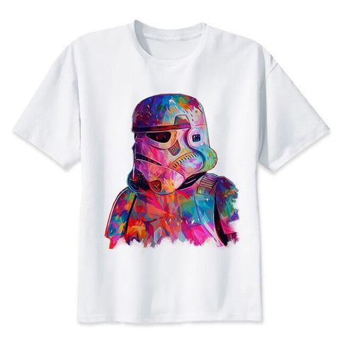 t shirt star wars stormtrooper coloré