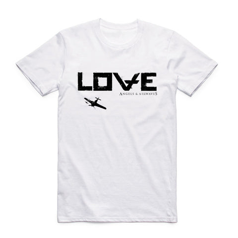 angels and airwaves love tee shirt