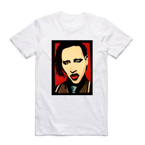 marilyn manson t shirt art