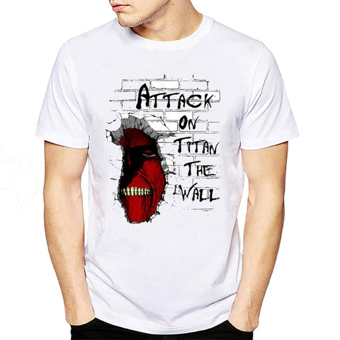t shirt attaque des titans the wall