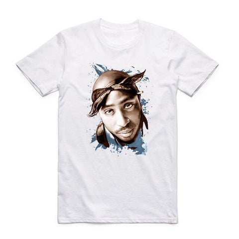 t shirt tupac vintage graphic