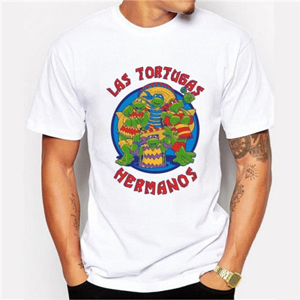 t shirt breaking bad las tortugas hermanos