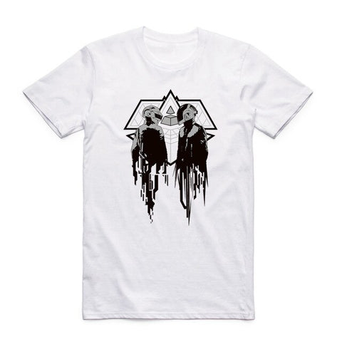 t shirt daft punk alive graphic