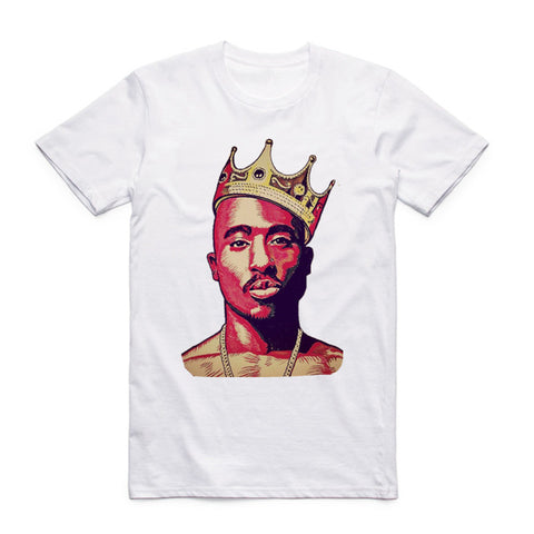 2pac t shirt king