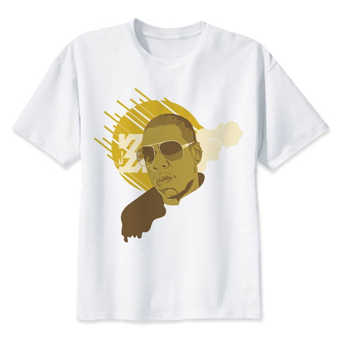 t shirt jay z portrait art
