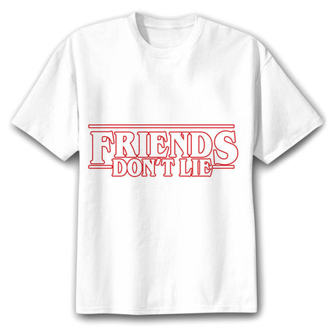 t shirt stranger things friends don t lie