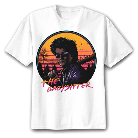 t shirt stranger things steve the babysitter